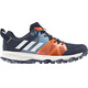 adidas Kanadia 8.1 Shoes Kids Collegiate Navy/Off White/Ash Blue